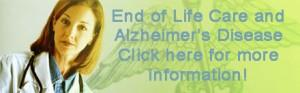End of Life Care and Alzheimer's Disease banner