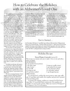 ElderCare at Home - Early Newsletter 3