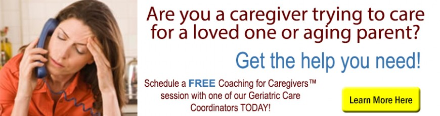 Caring for an Aging Parent?