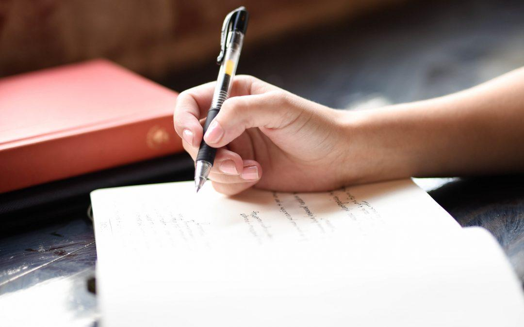 Tuesday Tips for Caregivers- 7 Reasons to Keep a Journal