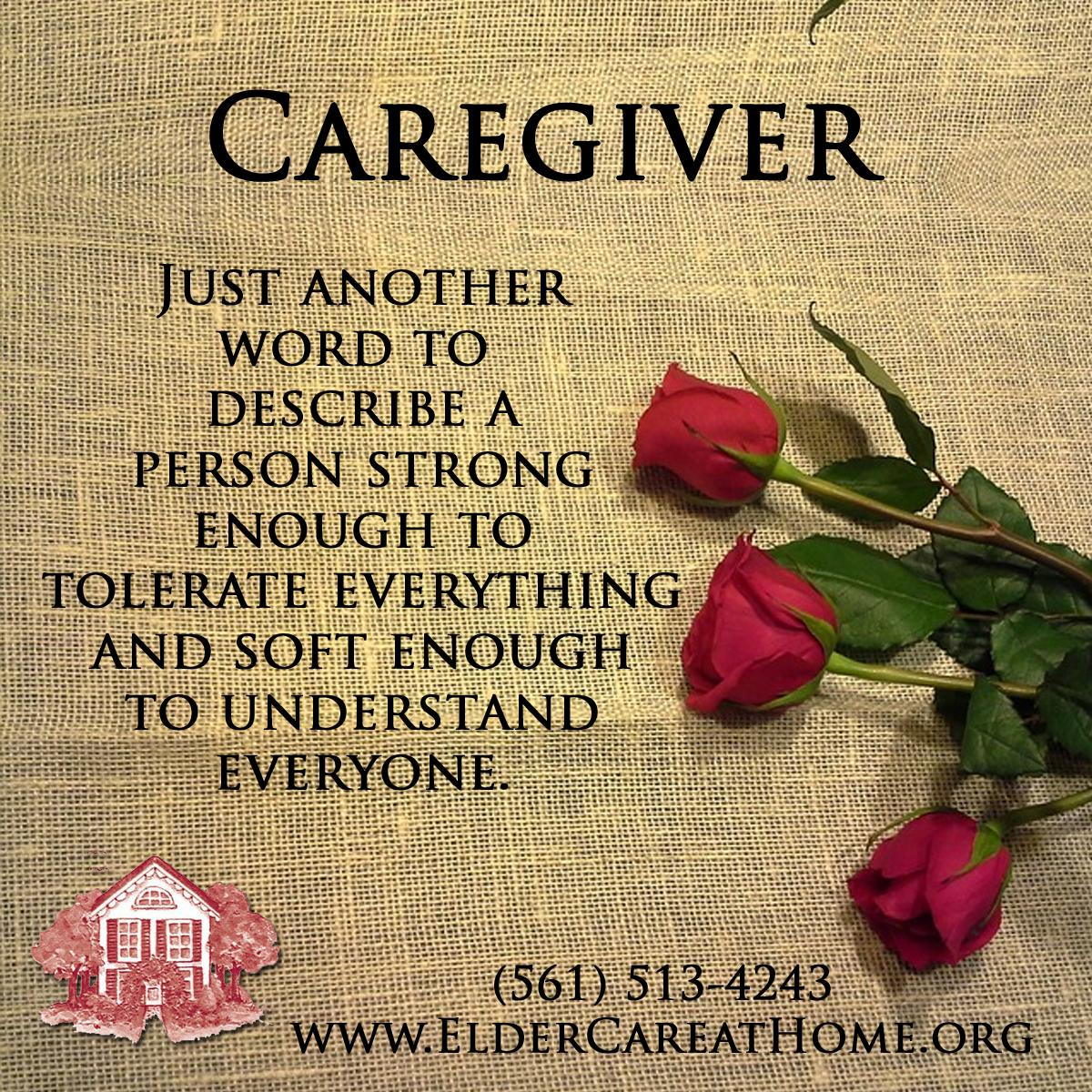 Caregiver Just Another Word For Copy Eldercare At Home