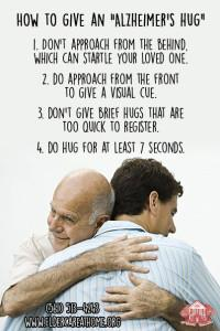 How to Give an Alzheimers Hug