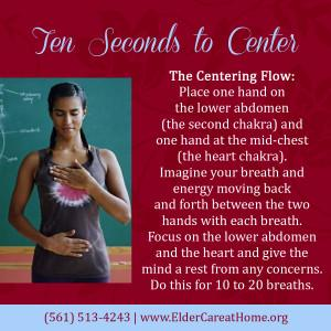 10 Seconds to Center