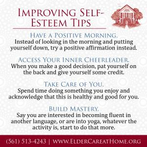 Improving Self-Esteem Tips