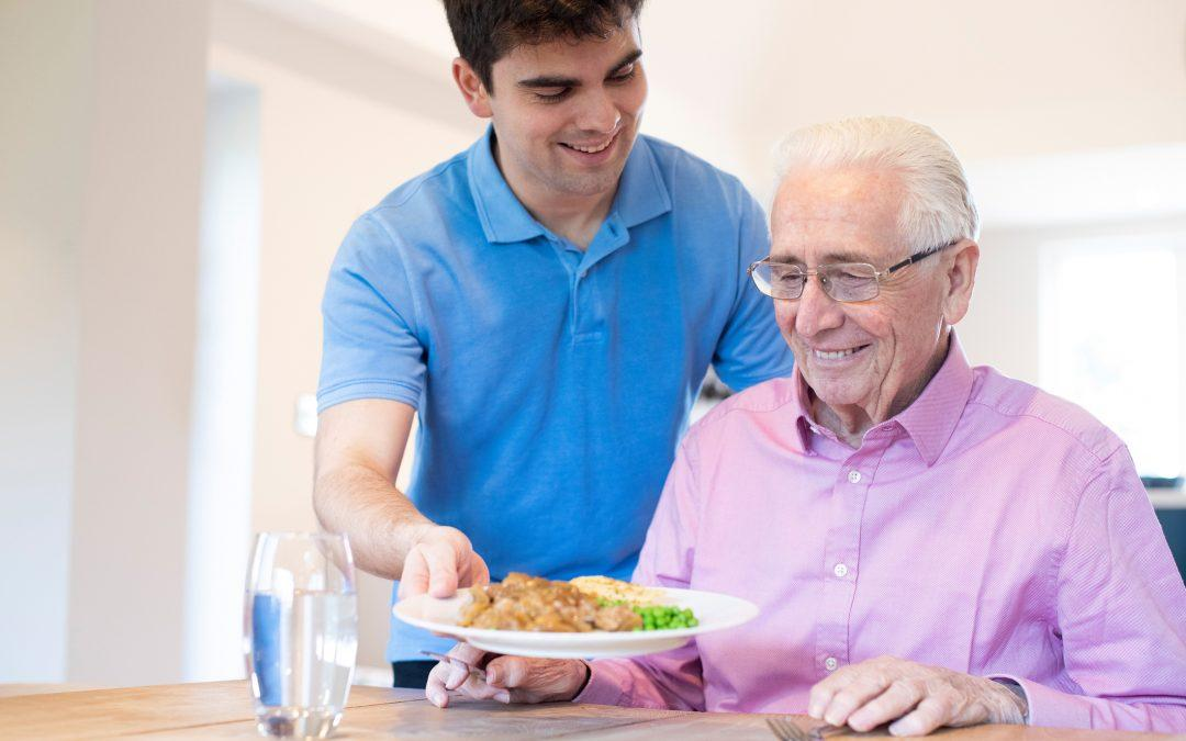 Tuesday Tips for Caregivers ~ Mealtime and Caregiving